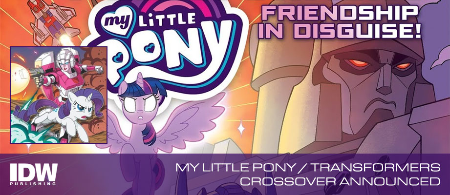 My Little Pony / Transformers 4-issue mini-series announced