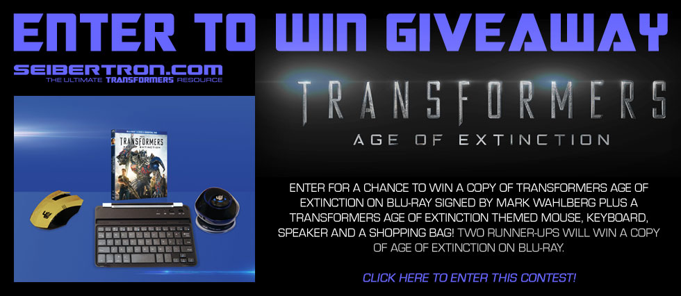 "Seibertron.com's ""Enter to Win"" Transformers Age of Extinction Giveaway from Paramount"