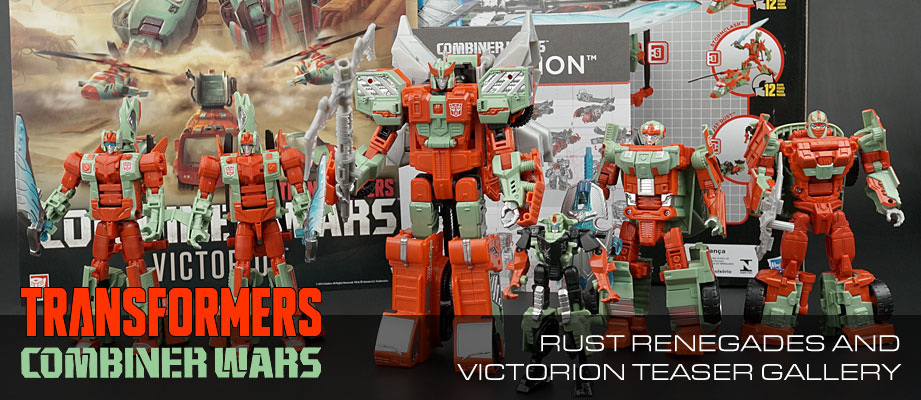 Transformers Combiner Wars Victorion and the Rust Renegades Unboxing Video and Teaser Gallery