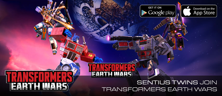 New Transformers Characters SENTIUS MAGNUS and SENTIUS MALUS in TRANSFORMERS: EARTH WARS