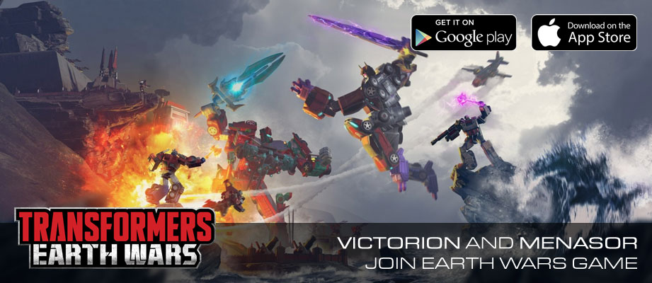 Victorion and Menasor coming to Transformers: Earth Wars