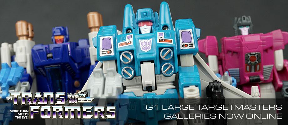 New Galleries: G1 Targetmasters Slugslinger, Misfire, Triggerhappy, Crosshairs, Pointblank, and Sureshot