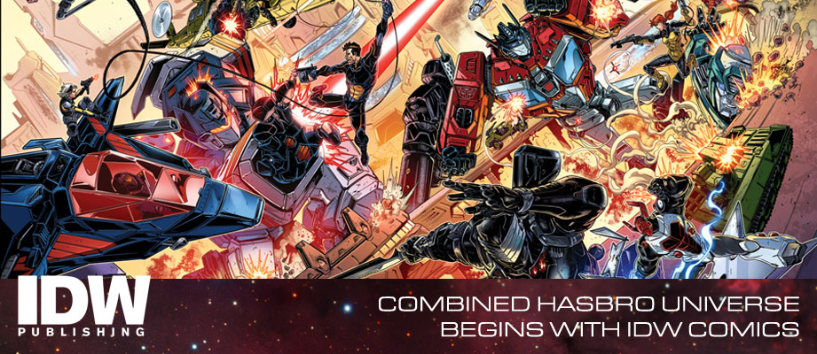 IDW Hasbro Comics Crossover: Revolution - Chris Ryall Interview, John Barber Clarifications