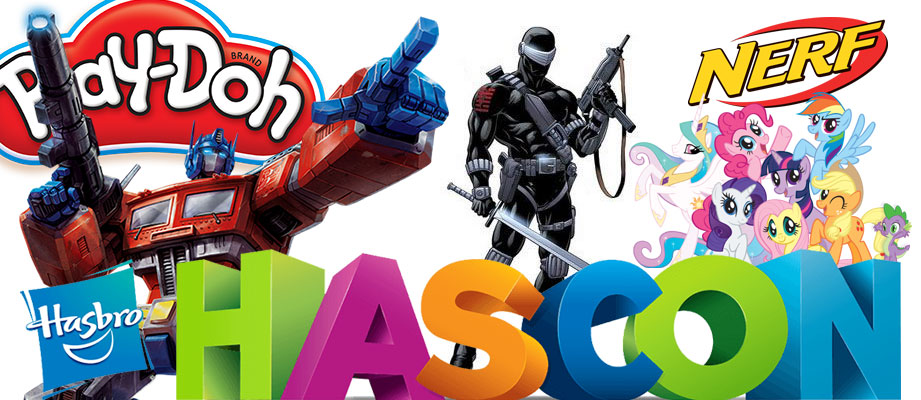 Hasbro Announces HASCON 2017 - 8-10 September, Rhode Island