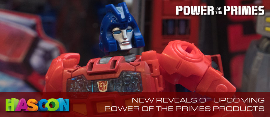 Gallery for Transformers Power of the Primes Figures on Showfloor at #HASCON