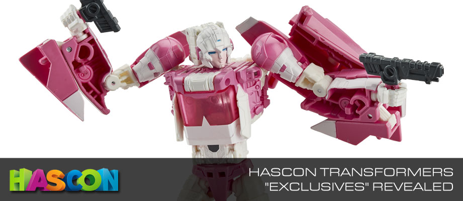 'Transformers' HASCON Convention Exclusive Merchandise Unveiled