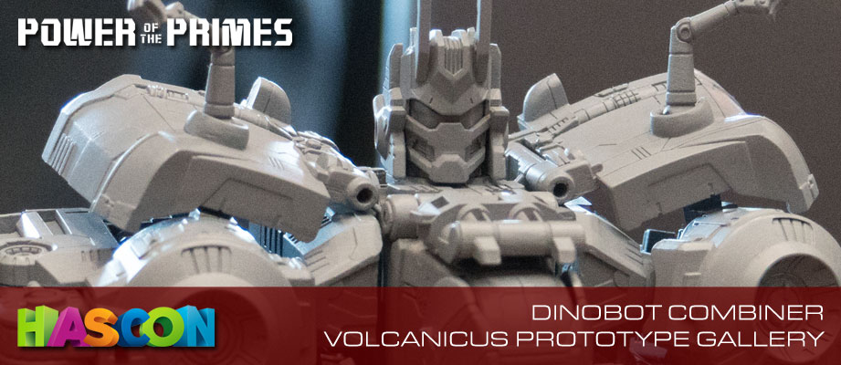 Gallery of Transformers: Power of the Primes Dinobot Combiner Volcanicus