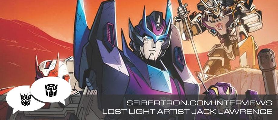 Seibertron.com Interviews Lost Light Artist Jack Lawrence
