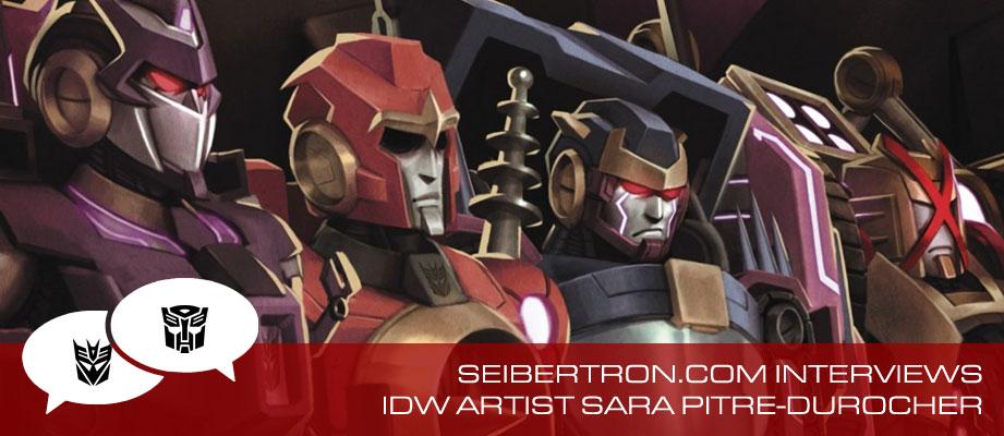 Seibertron.com Interviews IDW Artist Sara Pitre-Durocher