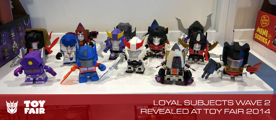 Toy Fair 2014 Coverage (RECAP) - The Loyal Subjects Gallery