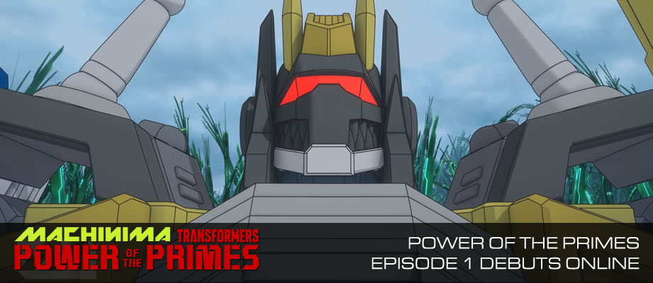 Machinima's Transformers Power of the Primes Episode 1 Debuts Online
