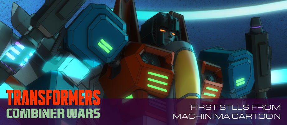 Machinima Transformers Combiner Wars: First Exclusive Stills From Show