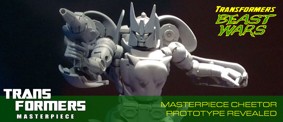 Takara Transformers Masterpiece Cheetor Revealed at Tokyo Toy Show 2016