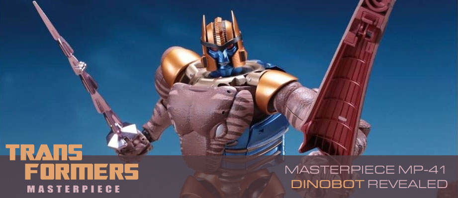 Takara Tomy Transformers Masterpiece MP-41 Dinobot Fully Revealed