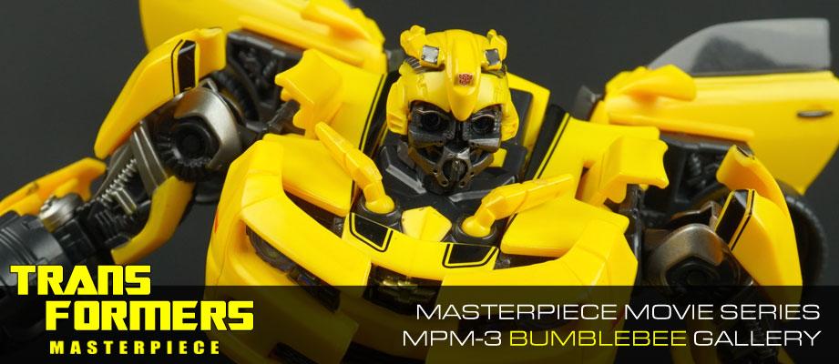 New Gallery: Masterpiece Movie Series MPM-3 Bumblebee