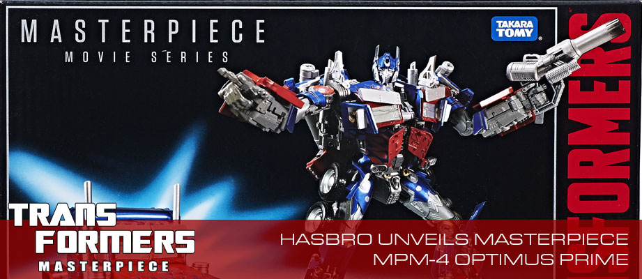 Official Images and Product Description for MPM-4 Movie Masterpiece Optimus Prime