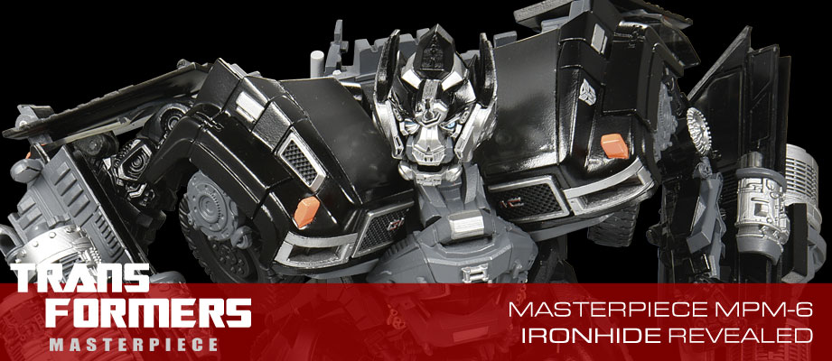Description and Official Images of Transformers Movie Masterpiece MPM-6 Ironhide