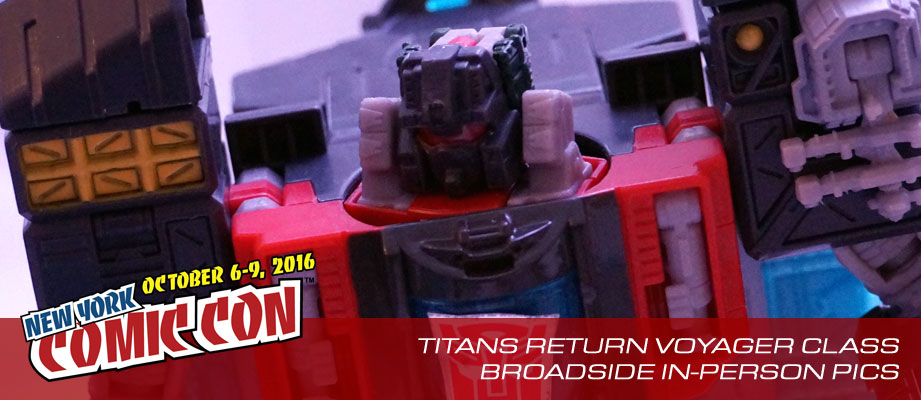 NYCC 2016 Images of Transformers Titans Return Sky Shadow and Broadside from Hasbro Preview Night