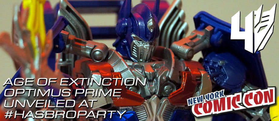 Transformers 4 Age of Extinction Optimus Prime Leader Class toy revealed
