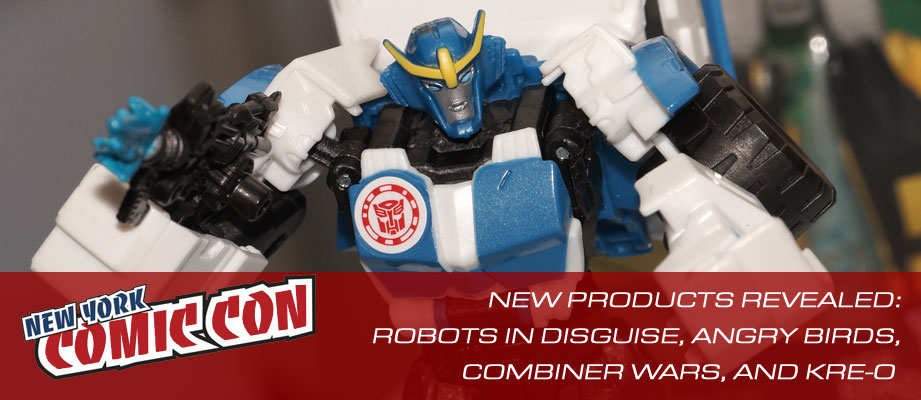 Hasbro NYCC Party Galleries: Combiner Wars, Robots In Disguise, Kre-o, and Angry Birds