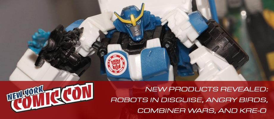 Hasbro NYCC Party Galleries: Combiner Wars, Robots In Disguise, Kr