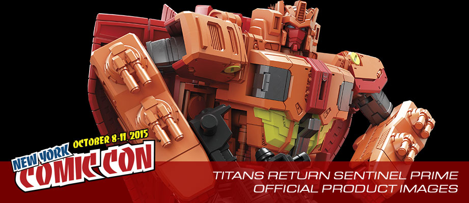 Official stock images of Sentinel Prime from next year's Transformers Titans Return toy line