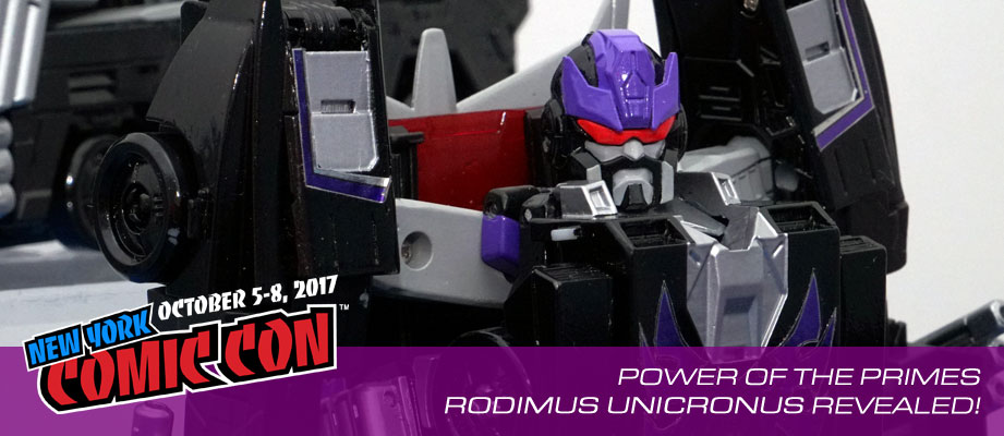 NYCC 2017: #Transformers Power of the Primes Rodimus Unicronus Gallery #hasbronycc