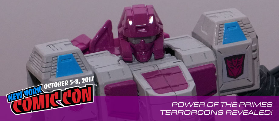 NYCC 2017: Gallery for #Transformers Power of the Primes Terrorcons Revealed #hasbronycc #NYCC17
