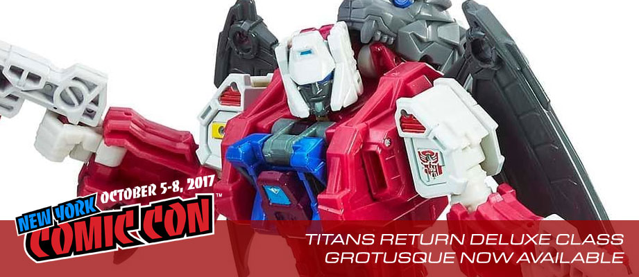 NYCC 2017: Titans Return Grotusque revealed and now available!