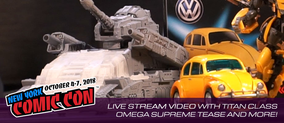 Video of Hasbro Transformers Brand Live Stream Video from #NYCC 2018