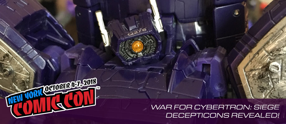 Gallery and Video of Transformers War for Cybertron: Siege Display from #NYCC 2018