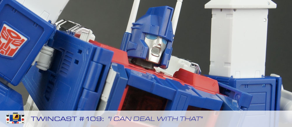 Transformers Podcast: Twincast / Podcast #109 - I Can Deal With That