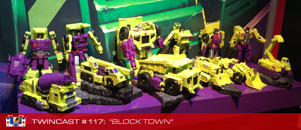 Transformers Podcast: Twincast / Podcast #117 - Block Town