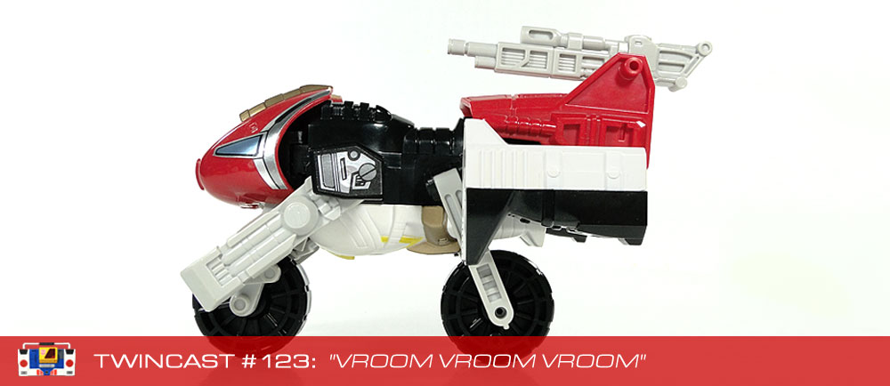 Transformers Podcast: Twincast / Podcast #123 - Vroom Vroom Vroom