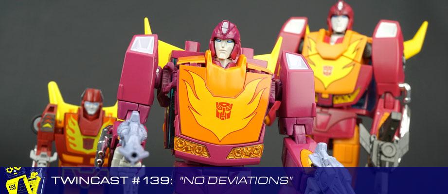 "Twincast / Podcast Episode #139 ""No Deviations"""