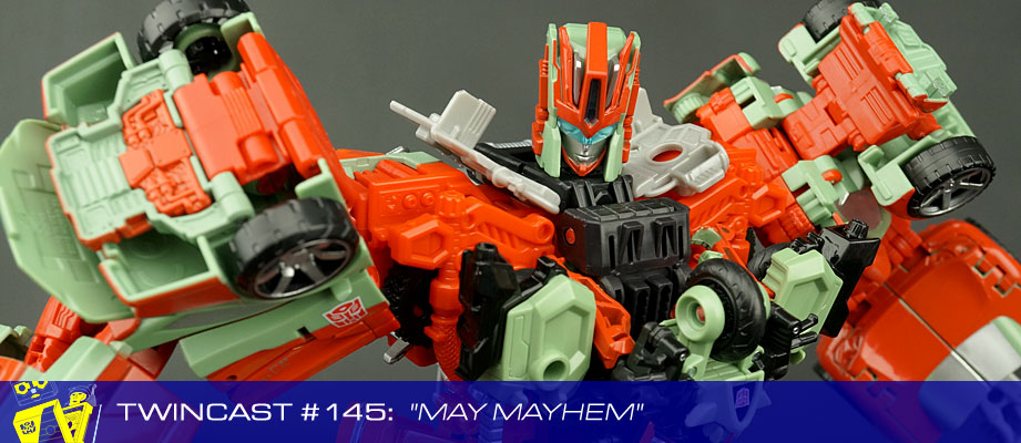 Transformers Podcast: Twincast / Podcast #145 - May Mayhem