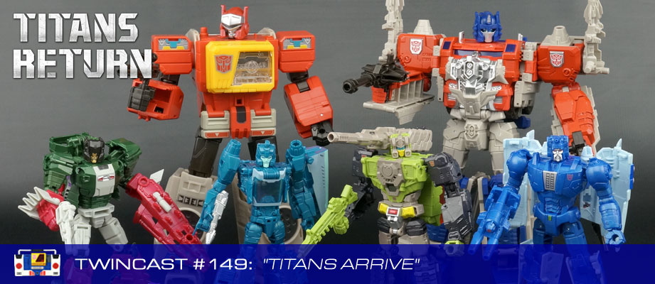 "Twincast / Podcast Episode #149 ""Titans Arrive"""