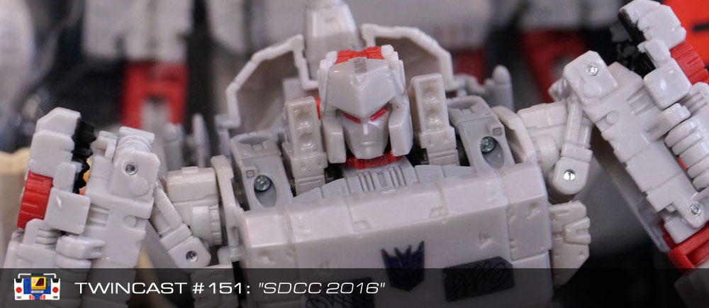 Transformers Podcast: Twincast / Podcast #151 - SDCC 2016