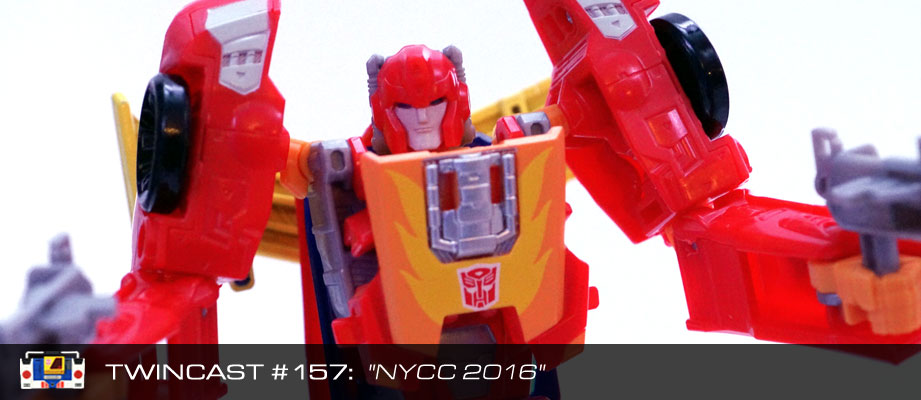 Transformers Podcast: Twincast / Podcast #157 - NYCC 2016