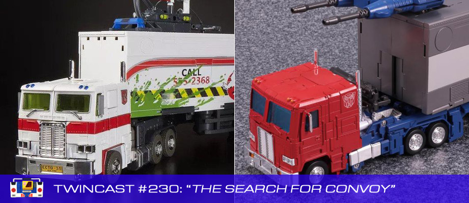 Transformers Podcast: Twincast / Podcast #230 - The Search for Convoy