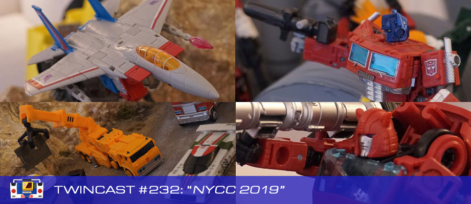 Transformers Podcast: Twincast / Podcast #232 - NYCC 2019