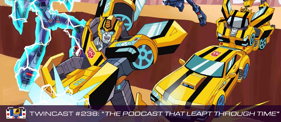 Transformers Podcast: Twincast / Podcast #238 - The Podcast That Leapt Through Time