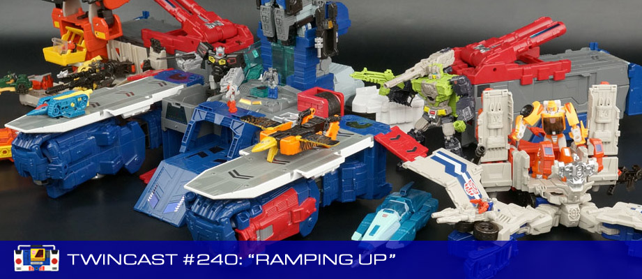 Transformers Podcast: Twincast / Podcast #240 - Ramping Up