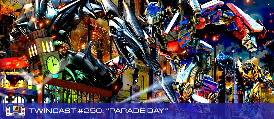 "Twincast / Podcast Episode #250 ""Parade Day"""