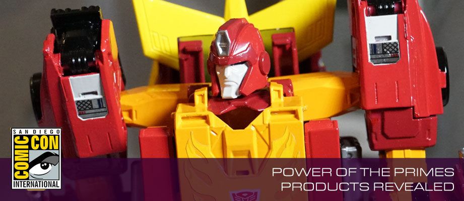 SDCC 2017: Hasbro Transformers Power of the Primes Toy Teaser Images, Featuring Jazz, Skullgrin, Rodimus Prime and More #HasbroSDCC