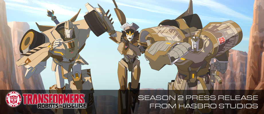"Hasbro's ""Transformers: Robots in Disguise"" Returns to Cartoon Network for Season 2"