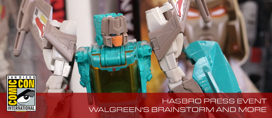 Hasbro Press Event: Titans Return Megatron, Gnaw, Brainstorm, Bumblebee and More!!
