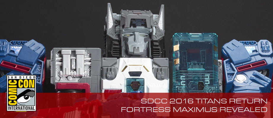 Additional images of SDCC 2016 Titans Return Fortress Maximus with Master Sword