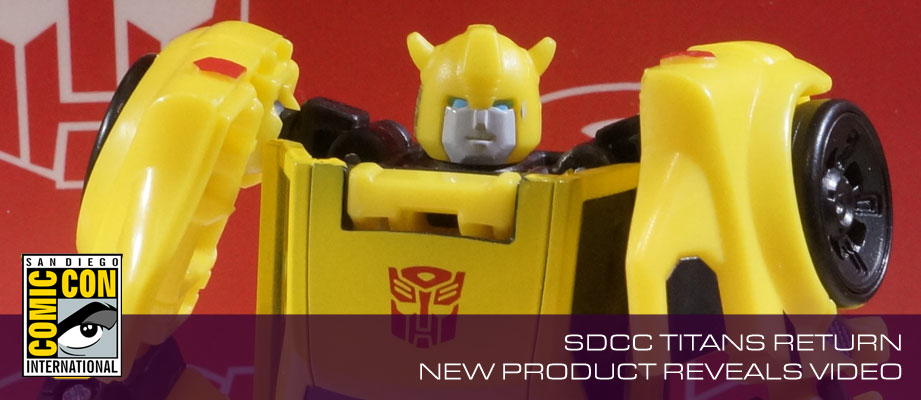 SDCC 2016: Transformers Titans Return Display Video