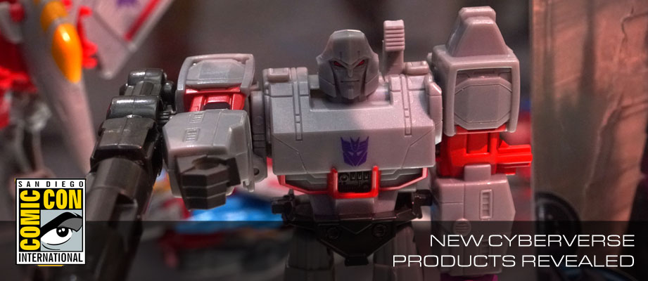 SDCC 2018: Transformers Cyberverse Warrior Megatron, Acid Storm, Windblade , Ultra Shockwave and More #HasbroSDCC
